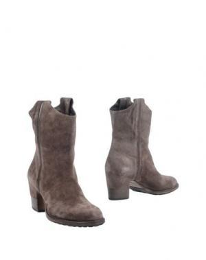 Полусапоги и высокие ботинки VIC MATIĒ. Цвет: свинцово-серый