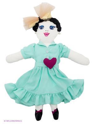 Кукла Vika Smolyanitskaya. Цвет: светло-зеленый, фуксия, белый, черный