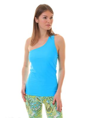 Майка Eka Bhudja Blue Urban Yoga. Цвет: морская волна