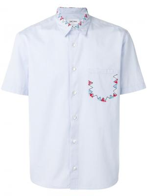 Embroidered bunting shirt Jimi Roos. Цвет: синий