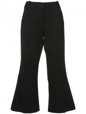 Cropped wide leg trousers A.L.C.. Цвет: чёрный