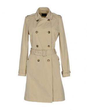 Легкое пальто FABRIZIO LENZI. Цвет: бежевый