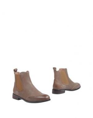 Полусапоги и высокие ботинки ATELIER MERCADAL. Цвет: хаки
