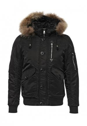 Куртка утепленная Tony Backer. Цвет: черный