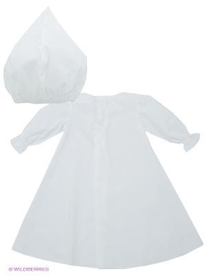 Комплект крестильный Ангел мой. Цвет: белый