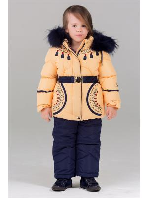 Комплект одежды Bilemi. Цвет: кремовый