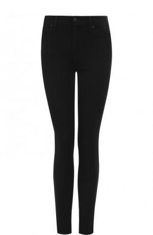Однотонные джинсы-скинни Joes Jeans Joe's. Цвет: черный