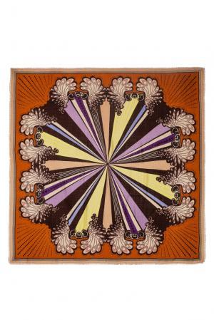 Платок из шерсти 183404 Moltini. Цвет: разноцветный