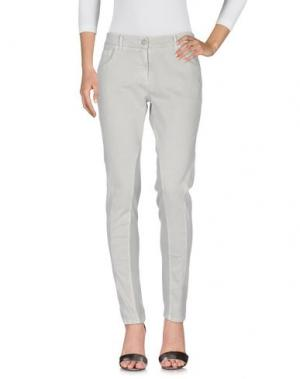 Джинсовые брюки GUNEX. Цвет: светло-серый