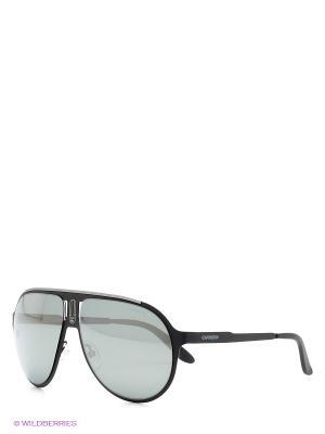 Солнцезащитные очки CARRERA. Цвет: серый, черный