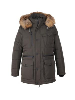 Куртка HAGENSON. Цвет: хаки