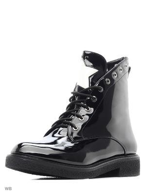Ботинки Dino Ricci. Цвет: черный, белый