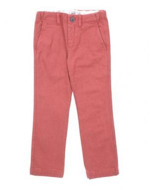 Повседневные брюки GUSELLA. Цвет: кирпично-красный