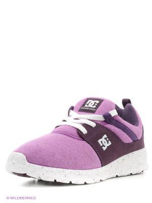 Кроссовки DC Shoes. Цвет: фиолетовый