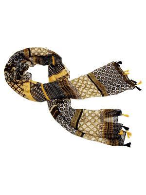 Платок Kameo-bis. Цвет: оливковый, желтый, серый