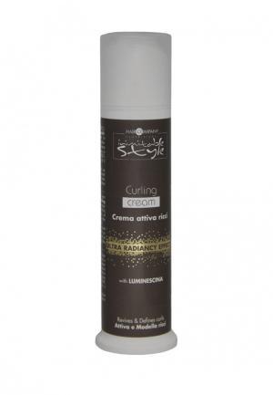 Крем для укладки локонов Hair Company Professional. Цвет: коричневый