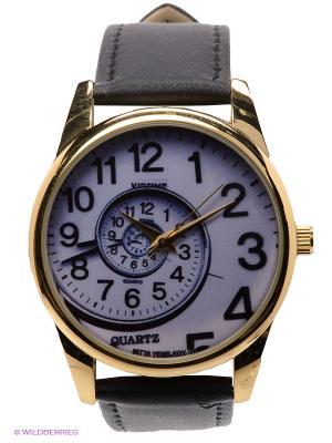 Часы Спираль времени Mitya Veselkov. Цвет: черный