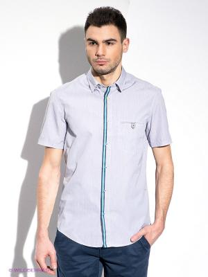 Рубашка HUGO BOSS. Цвет: серый
