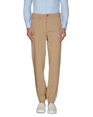 Повседневные брюки NLST. Цвет: песочный