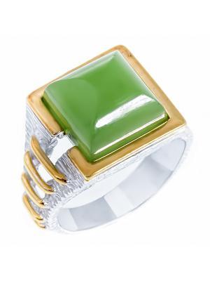Кольцо Балтийское золото. Цвет: серебристый, золотистый
