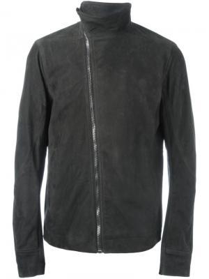 Куртка на молнии Rick Owens. Цвет: зелёный
