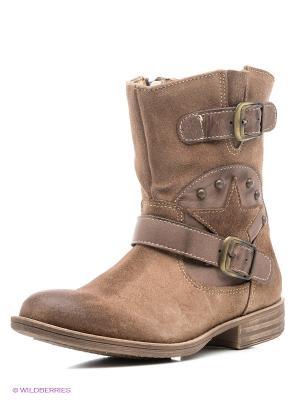 Ботинки El Tempo. Цвет: коричневый