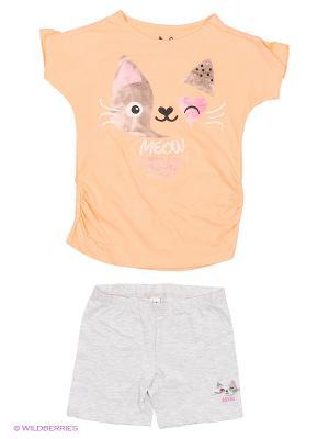 Пижама Reserved. Цвет: оранжевый