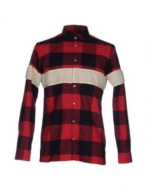 Pубашка LC23. Цвет: красный