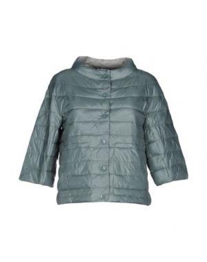 Куртка BINI Como. Цвет: светло-зеленый