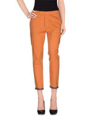 Повседневные брюки G2CHOICE. Цвет: оранжевый
