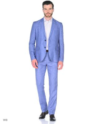 Пиджак United Colors of Benetton. Цвет: сиреневый, синий
