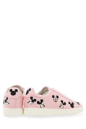 Кеды с вышивкой Moa. Цвет: розовый