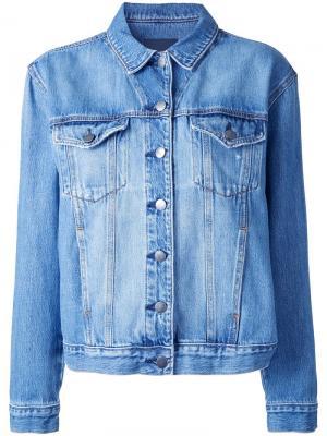 Джинсовая куртка Chloe Nobody Denim. Цвет: синий