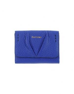 Бумажник CARMENS. Цвет: ярко-синий