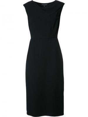 Приталенное коктейльное платье Narciso Rodriguez. Цвет: чёрный