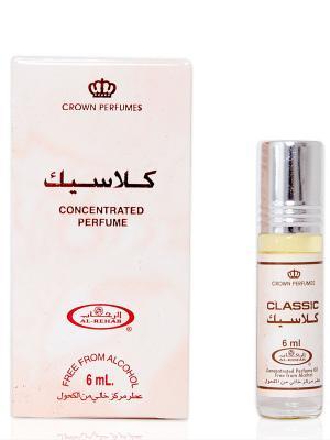 Арабские масляные духи Классика (Classic), 6 мл Al Rehab. Цвет: малиновый, бежевый