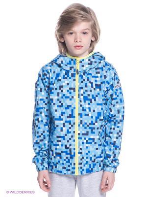 Куртка S`Cool. Цвет: голубой