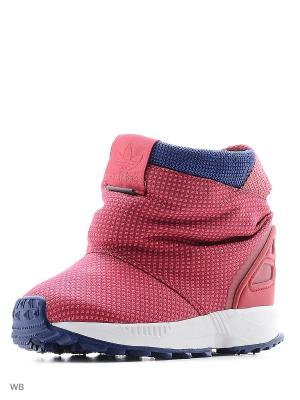 Сапоги ZX FLUX BOOT TR Adidas. Цвет: фуксия
