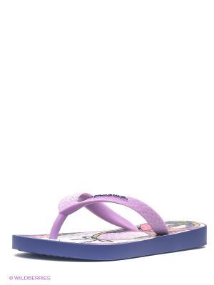 Шлепанцы Ipanema. Цвет: фиолетовый