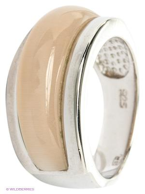 Кольцо BALEX. Цвет: серебристый, кремовый