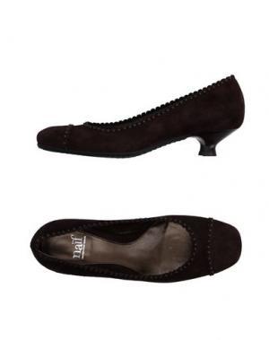 Туфли NAIF. Цвет: темно-коричневый