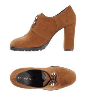 Обувь на шнурках BRUNO PREMI. Цвет: коричневый