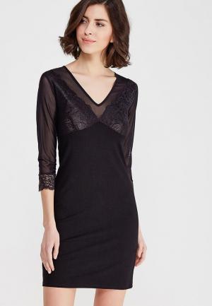 Платье Mia-Amore. Цвет: черный