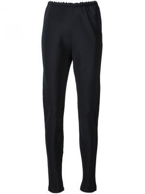 Зауженные брюки Peter Cohen. Цвет: чёрный