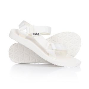 Сандалии женские  Original Universal Bright White Teva. Цвет: белый