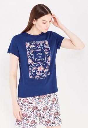 Пижама Kinanit. Цвет: синий