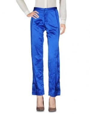 Повседневные брюки MARTINA SPETLOVA. Цвет: ярко-синий