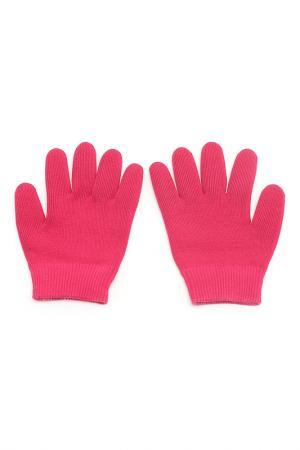 Увлажняющие гелевые перчатки Medolla. Цвет: темно-розовый