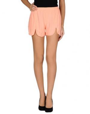 Повседневные шорты DRESS GALLERY. Цвет: лососево-розовый