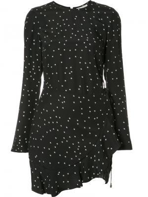 Платье с запахом Bella Rebecca Vallance. Цвет: чёрный